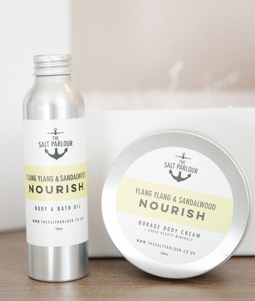 The Salt Parlour Gift Set NOURISH