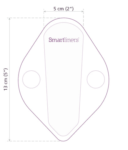 Smartliners Thong Daily Reusable Liners - x4 Pack