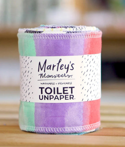 Marley's Monsters Toilet Unpaper Roll - Mixed Prints