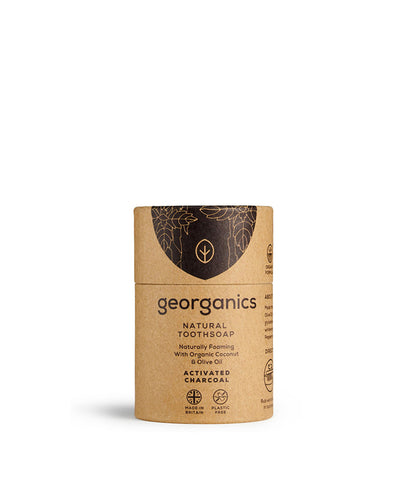Georganics Tooth Soap Activated Charcoal - 60ml