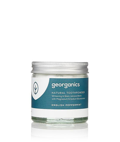Georganics Toothpowder English Peppermint - 120ml