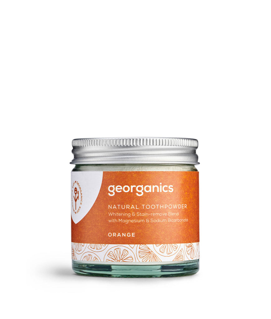 Georganics Toothpowder Orange - 120ml