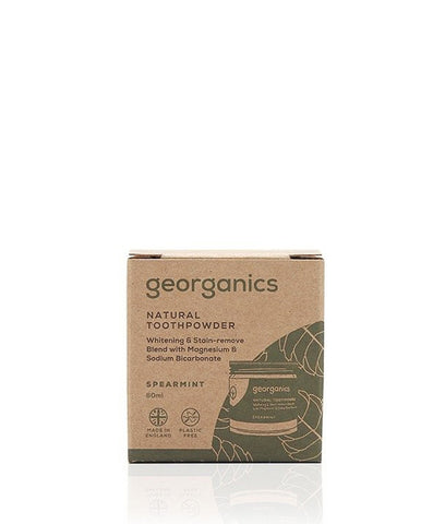 Georganics Toothpowder Spearmint - 60ml