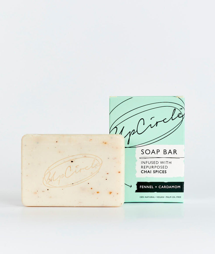 UpCircle Fennel & Cardamom Chai Soap Bar - 100g