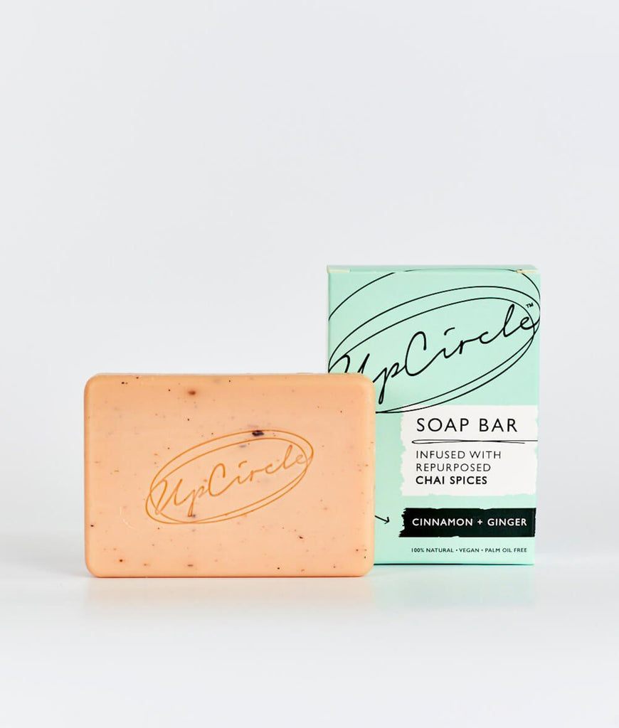 UpCircle Cinnamon & Ginger Chai Soap Bar - 100g