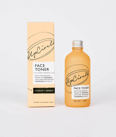 UpCircle Face Toner 100ml - Spray Lid