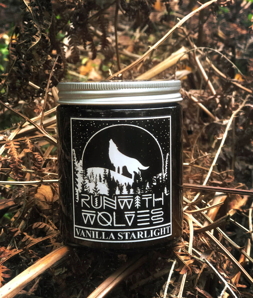 Run With Wolves Soy Wax Candle Vanilla Starlight - 180ml