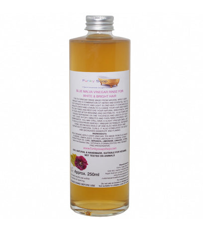 Funky Soap Vinegar Rinse for Blonde/White Hair - 250ml