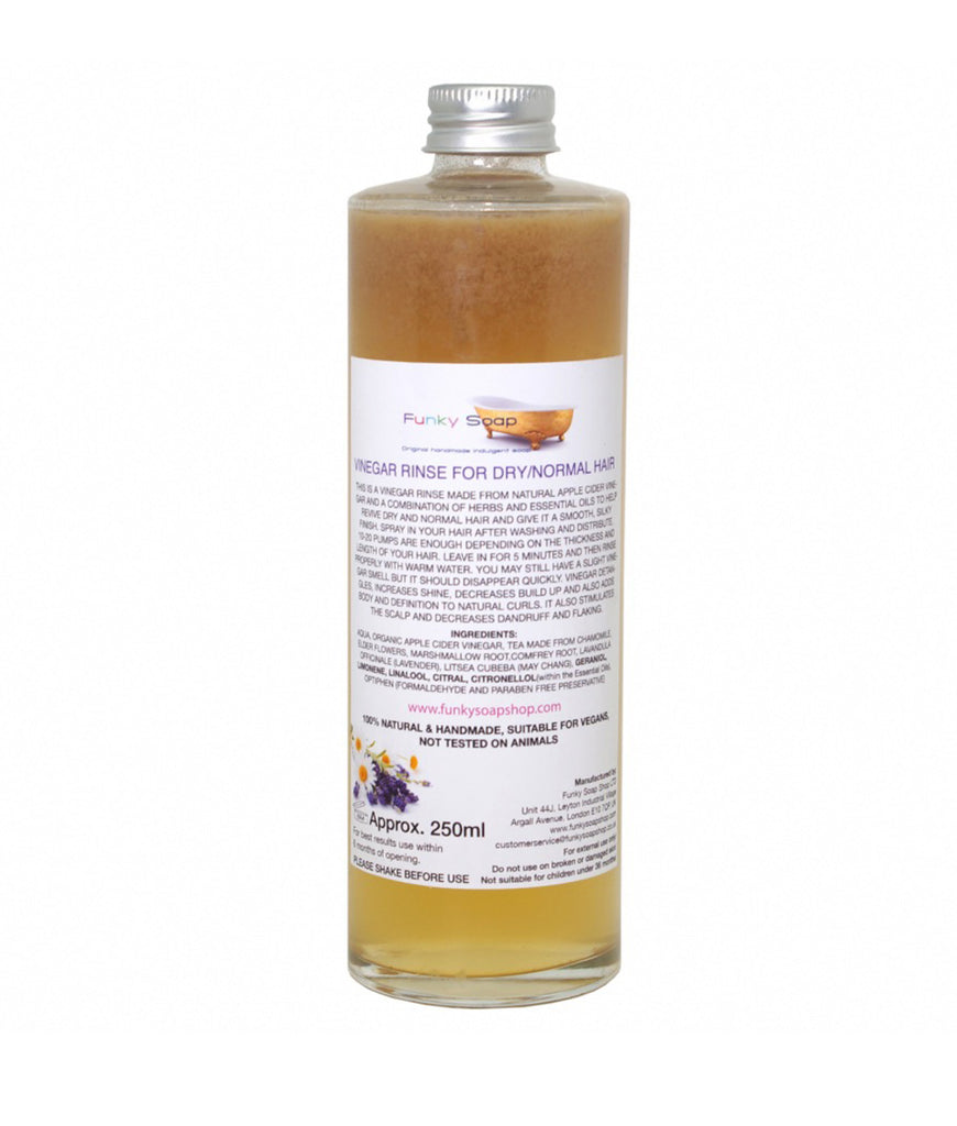 Funky Soap Vinegar Rinse for Dry/Normal Hair - 250ml