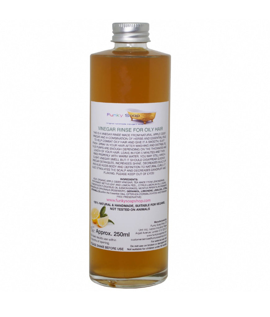 Funky Soap Vinegar Rinse for Oily Hair - 250ml