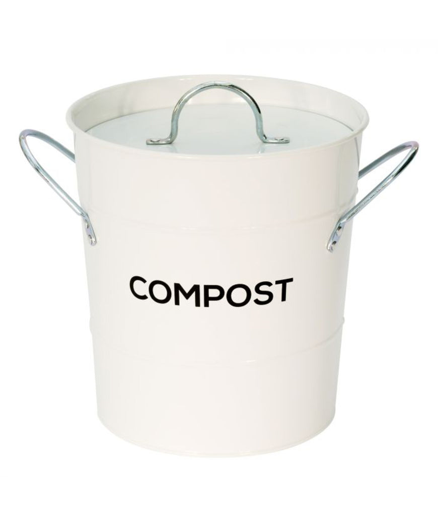 All Green Compost Bin - White