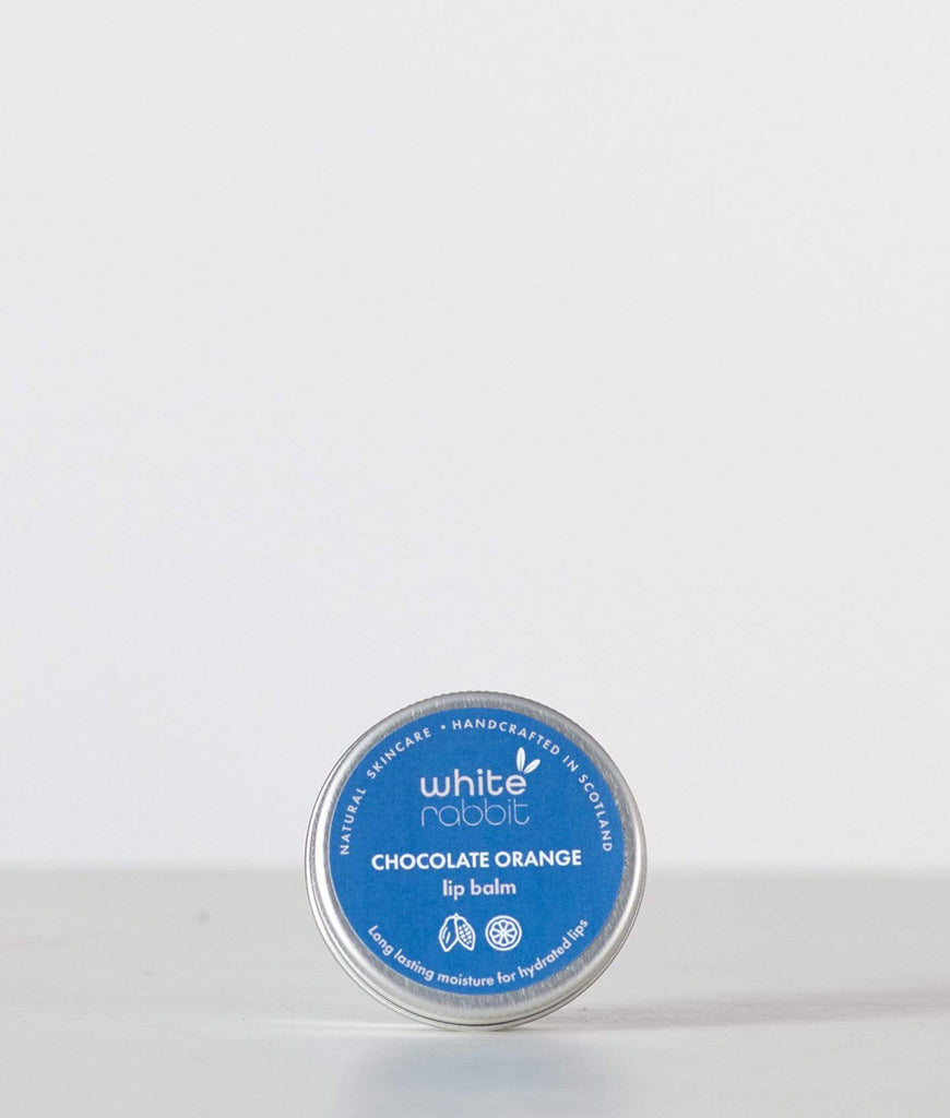 White Rabbit Skincare Chocolate Orange Lip Balm - 15ml