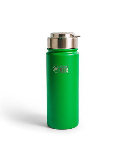 Elephant Box Green Wide Mouth Insulated Bottle - 500ml