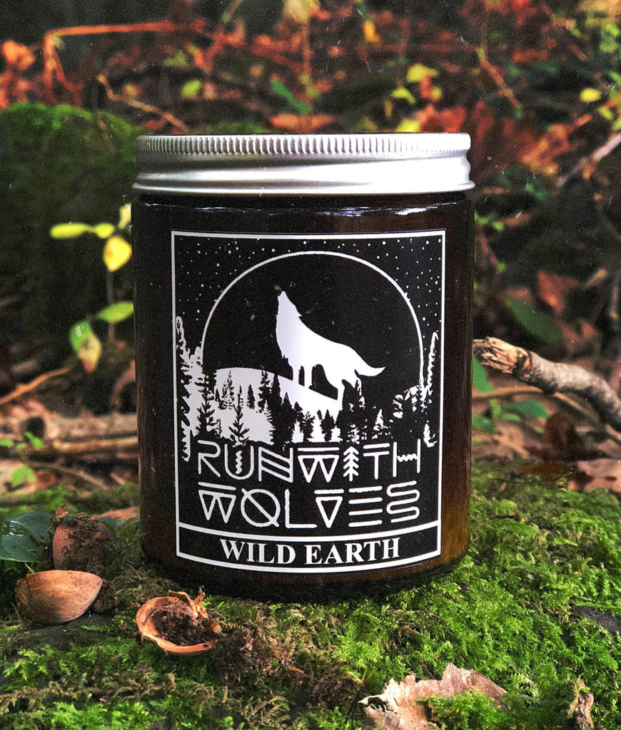 Run With Wolves Soy Wax Candle Wild Earth - 180ml