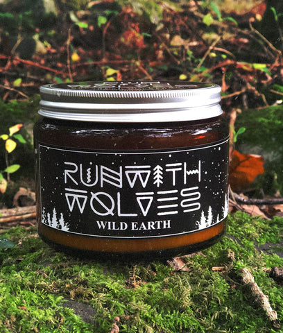 Run With Wolves Soy Wax Candle Wild Earth - XL 500ml