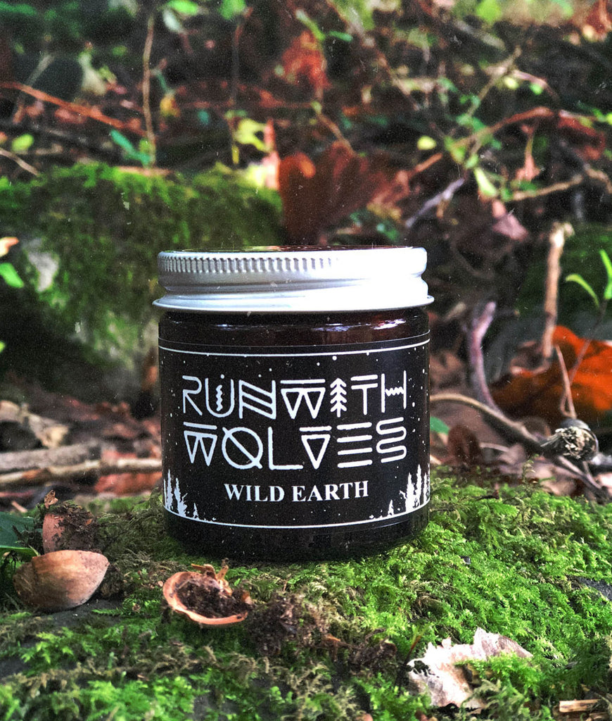 Run With Wolves Soy Wax Candle Wild Earth - MINI 60ml