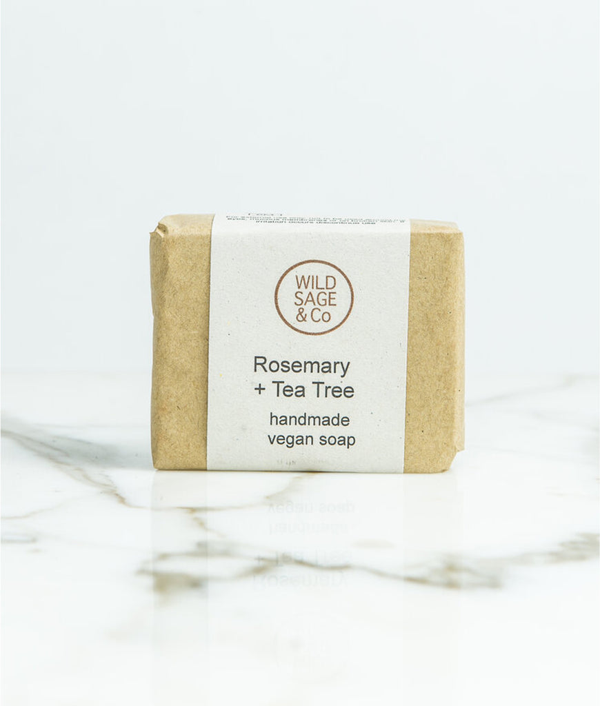 Wild Sage + Co Rosemary & Tea Tree Soap - 100g