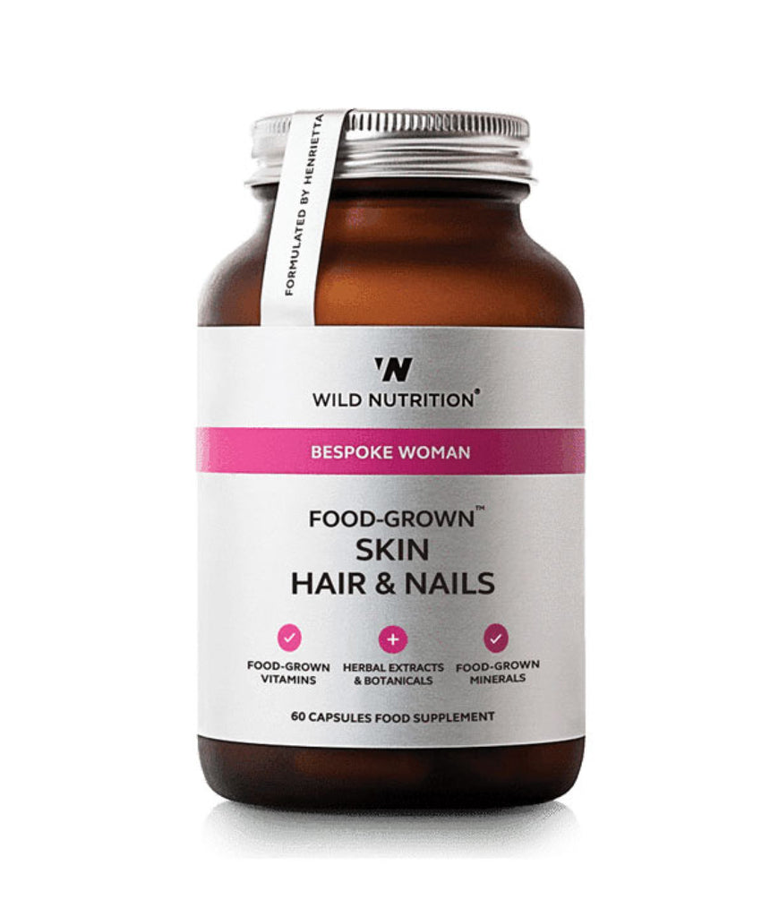 Wild Nutrition Women's Skin Hair & Nails Food-Grown®