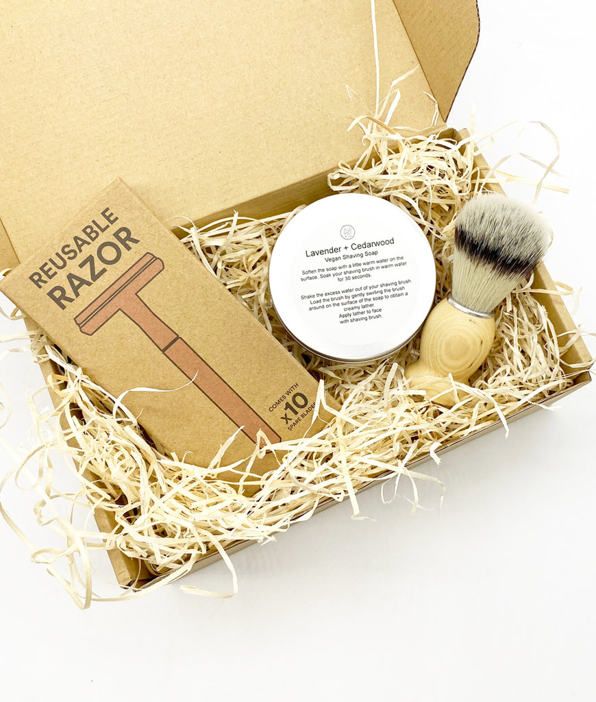 Plastic Freedom Gift Set - Rose Gold Shaving Essentials