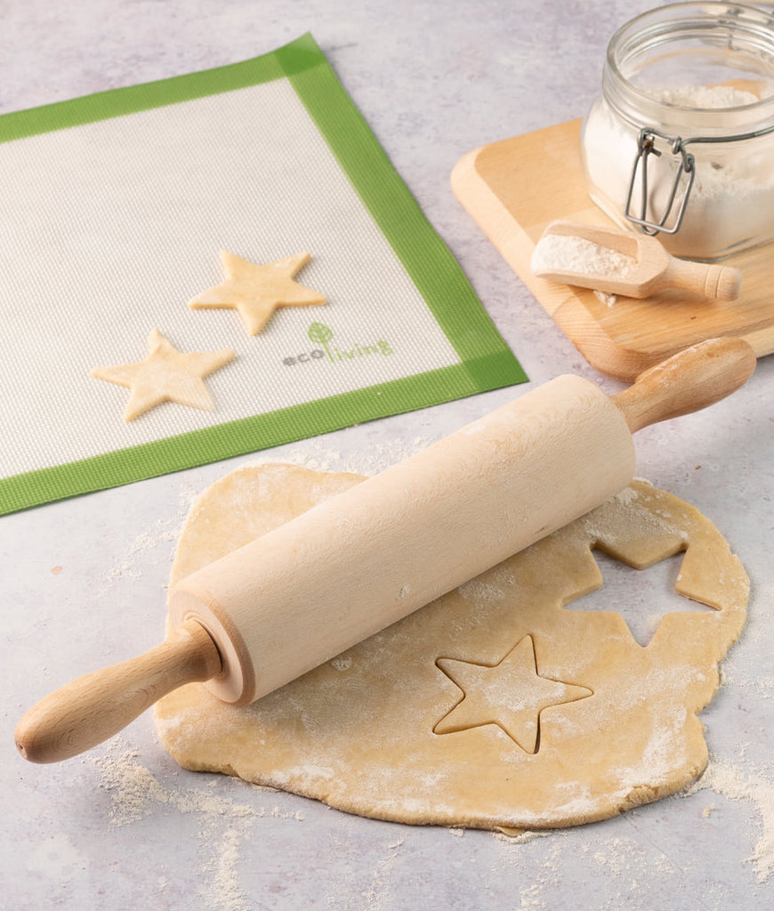 Eco Living Wooden Rolling Pin