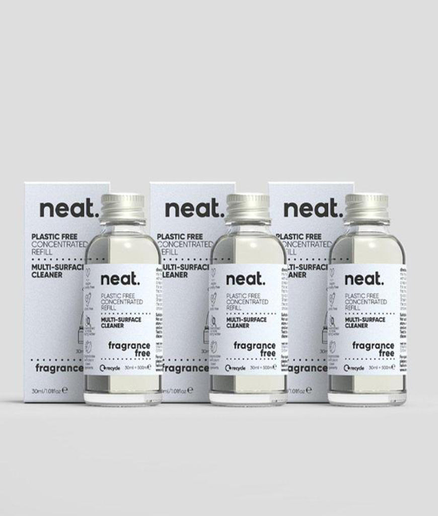 Neat Multi Purpose Cleaner Refill Fragrance Free - x3