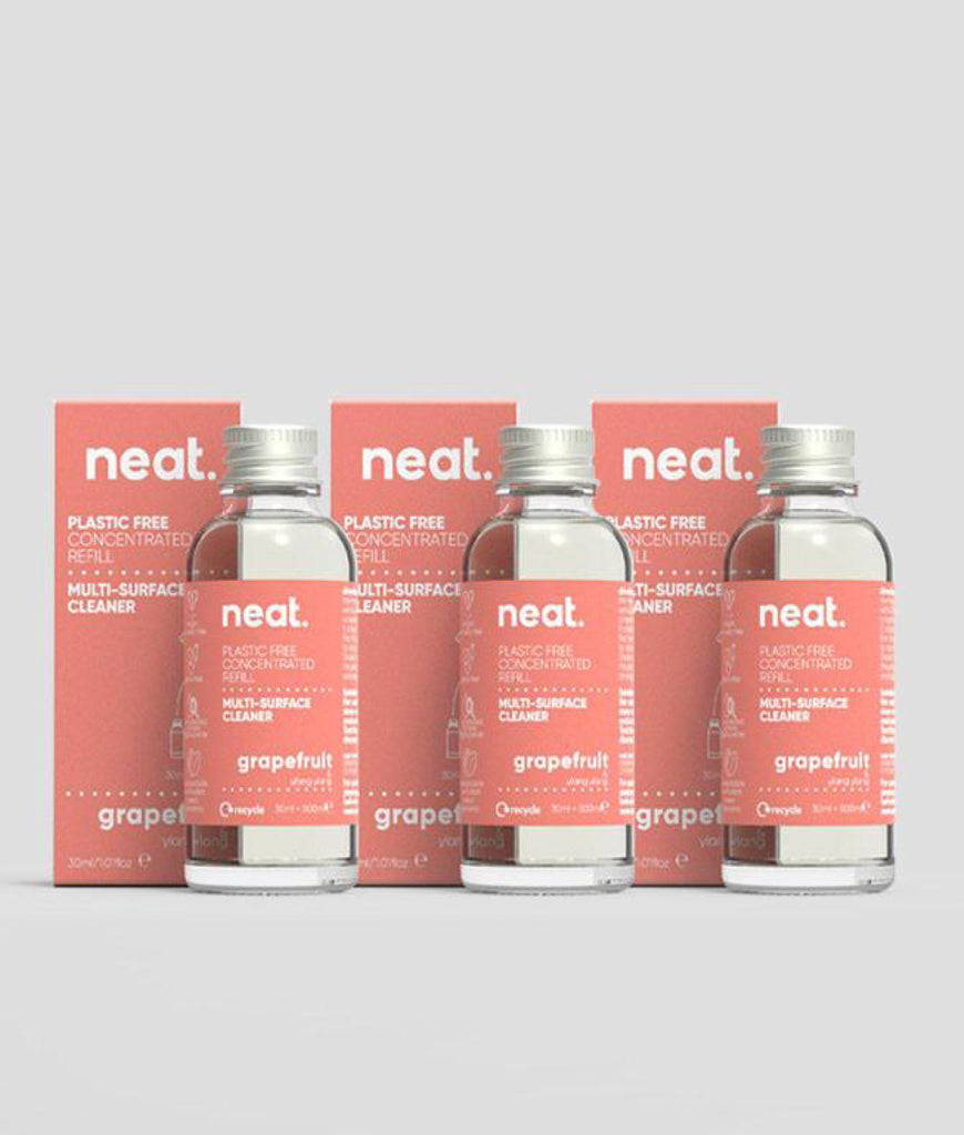 Neat Multi Purpose Cleaner Refill Grapefruit - x3