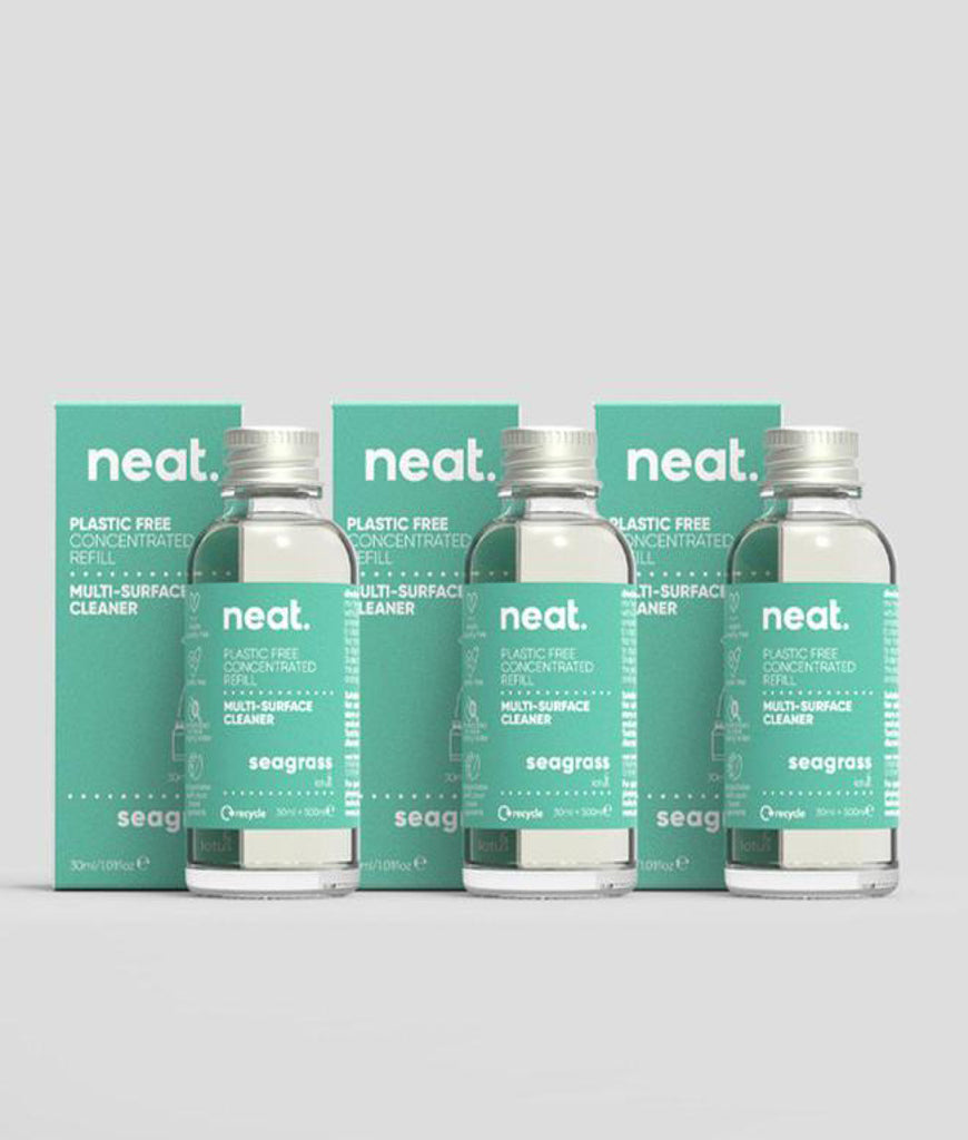 Neat Multi Purpose Cleaner Refill Seagrass - x3