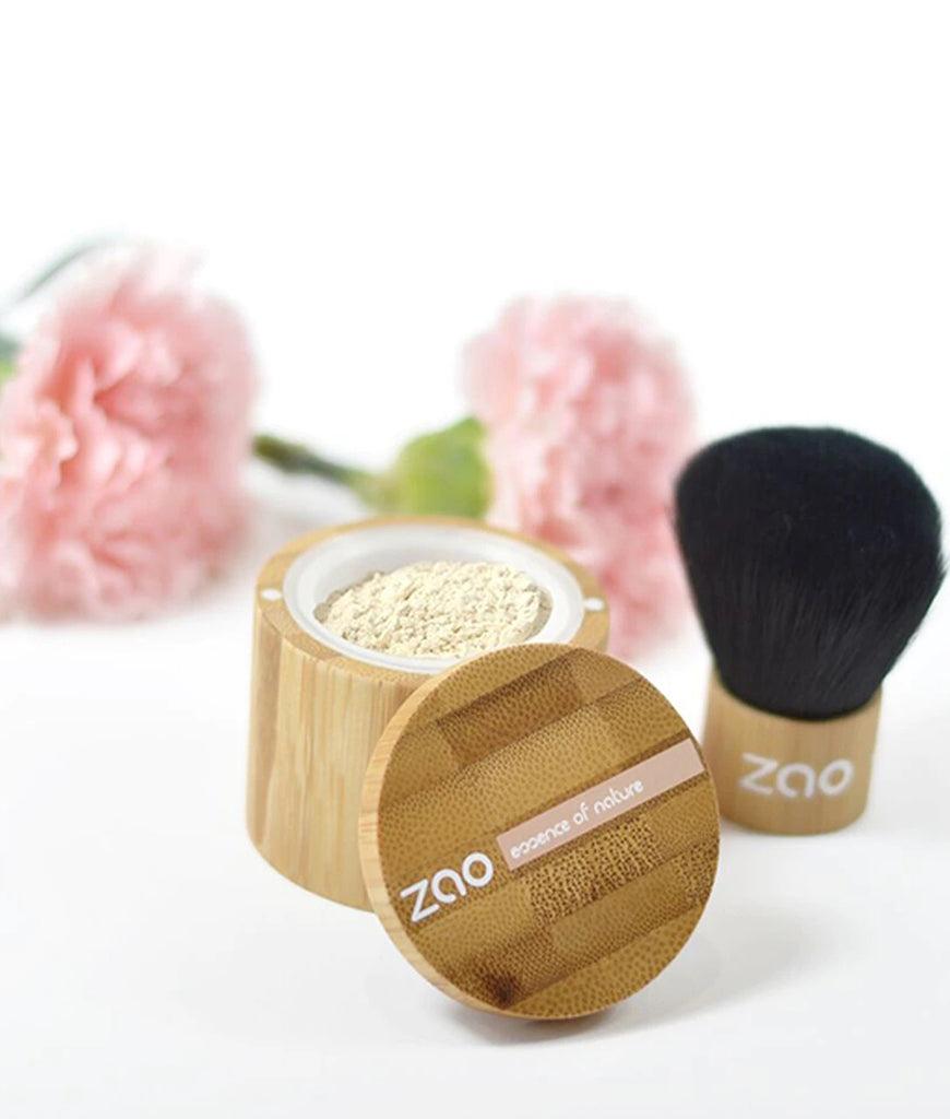 Zao Mineral Silk Loose Powder