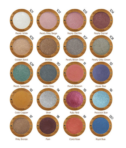 Zao Bright Pearly Eyeshadow - Refilll