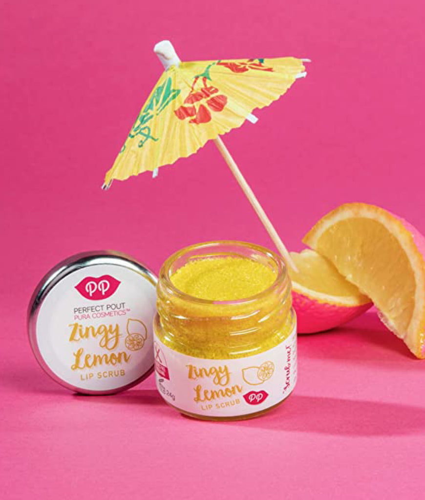 Pura Cosmetics Lip Scrub 24g - Zingy Lemon