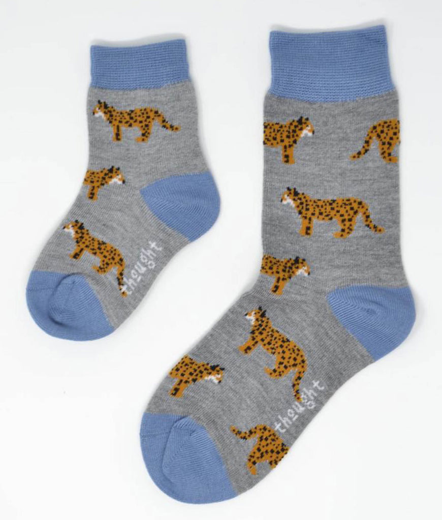 Thought Clothing Zoological Bamboo Kids Safari Animal Socks Gift Box