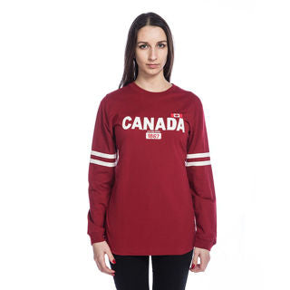 Classic Canada Long Sleeve T-shirt - Red