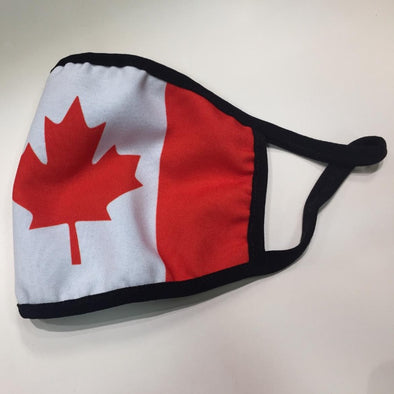 Canada print face mask