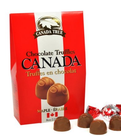TRUFFLES CHOCOLATE MAPLE-CODE MT228