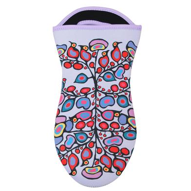 Floral Oven Mitt by Norval Morrisseau Woodland