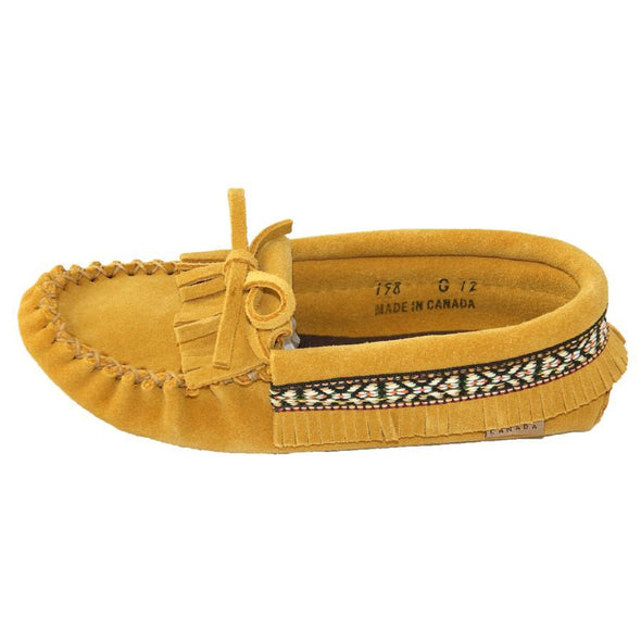 Youth Mocassin Indian Tan -Style 198