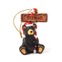 Christmas Ornaments-Believe Bear