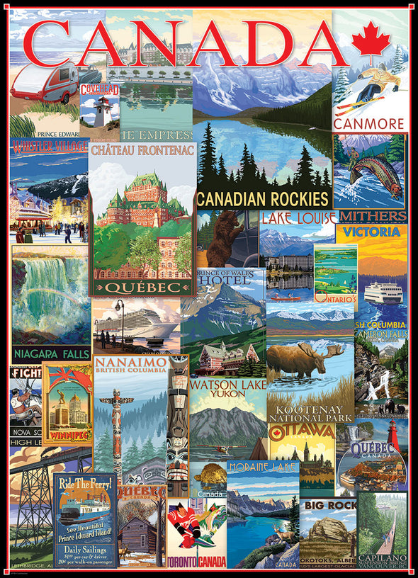 Travel Canada Vintage Posters