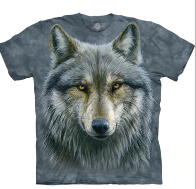 Warrior Wolf Unisex T-Shirt |Style 10-4979