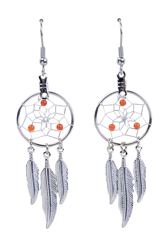DC1707 -EARRINGS-CARNELIAN  MON01