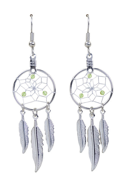 DC1708 -EARRINGS-PERIDOT  MON01