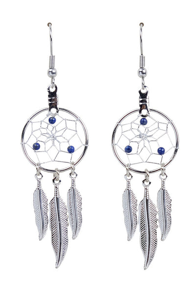 DC1709 -EARRINGS-LAPIS  MON01
