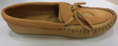 Men's Moose Hide Leather Moccasins-Style 7247