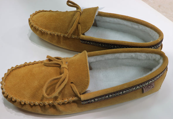 MEN'S INDIAN TAN MOCCASIN-Style 798