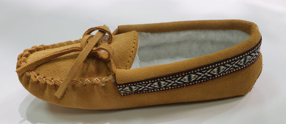 Youth Mocassin Indian Tan -Style 798