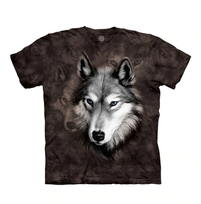 Kids Wolf Portrait T-Shirt