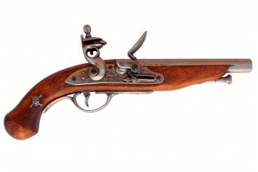 FLINTLOCK PIRATE PISTOL, FRANCE 18TH. C.