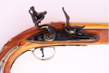 SOUVENIR WASHINGTON'S PISTOL, ENGLAND 18TH. C.