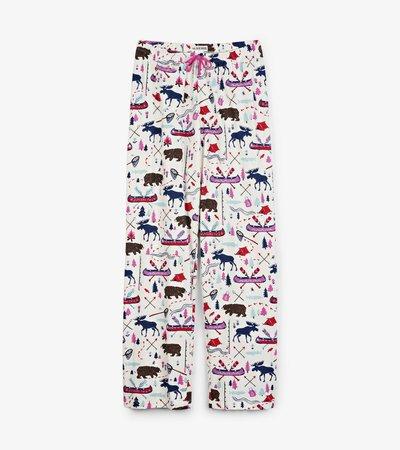 Women's Pretty Sketch Country  Pajama Pants