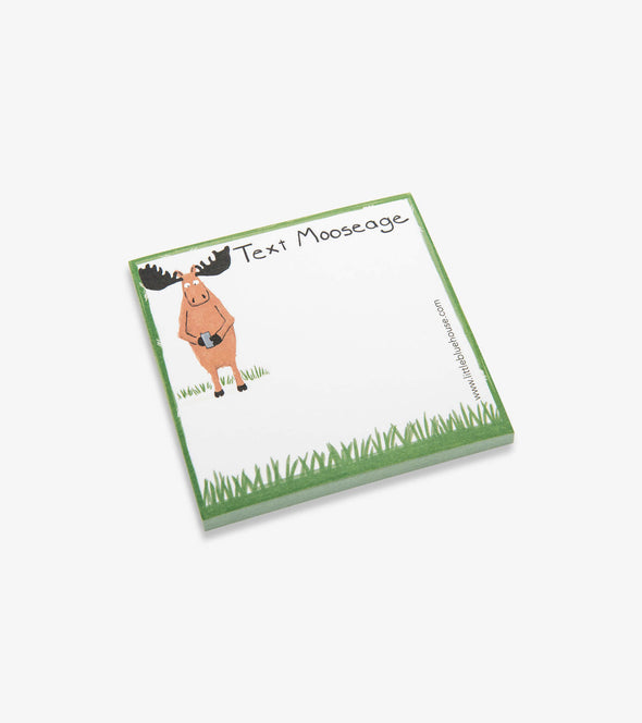 Text Mooseage Sticky Notes
